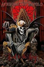 "AVENGED SEVENFOLD POSTER ""HAIL TO THE KING"""