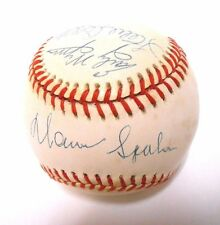 PSA Steve Carlton Gaylord Perry Early Wynn Warren Spahn Ball Signed Autographed