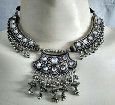 Gypsy Tribal Necklace Belly dance Set Jewelry Kuchi Ethnic ATS Boho Fusion OXO