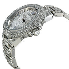 NEW MICHAEL KORS CAMILLE SILVER STAINLESS STEEL CRYSTALT LADIES WATCH MK5869