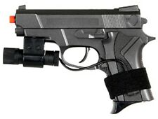 Dark Ops Airsoft Spring Pistol 1:1 Scale Tactical Airsoft Gun and LASER