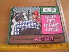 Little Red Riding Hood action pop-up book child guidance Liz Dauber