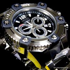 Invicta Reserve Grand Arsenal Octane Black 63mm Chronograph Swiss Watch New