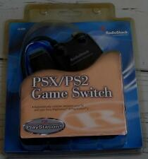 Radio Shack PSX/PS2 Game Switch - BRAND NEW IN PACKAGE - For Play Station