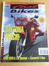 FAST BIKES MAGAZINE AUG 1991 TRIUMPH DAYTONA YAM EXUP KAWA ZZR1100 YAMAHA BANDIT