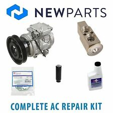 Toyota Camry 1992-1993 3.0L Complete A/C Repair Kit With NEW Compressor & Clutch