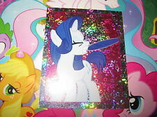 MY LITTLE PONY MON PETIT PONEY TOPPS 2014 IMAGE STICKER AUTOCOLLANT N° 74 HOLO