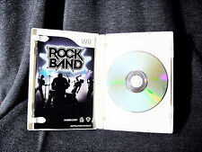 Rock Band (Complete in Case)  (Wii, 2008) VGC