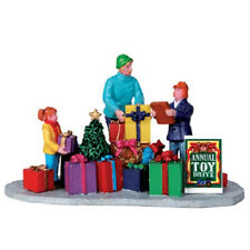 2013 Coventry Cove by Lemax Christmas Village Accessory Annual Toy Drive #33027