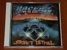 RACER X STREET LETHAL CD *RARE* ROADRUNNER RECORDS 1991 REPRESS LIMITED New