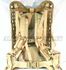 NEW Military MOLLE Rifleman DESERT TAN FRAME, SHOULDER STRAPS & BELT - 4th Gen
