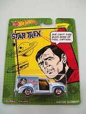 Hot Wheels Star Trek - SCOTTY CUSTOM '52 CHEVY Real Riders Metal/Metal NIP 2013