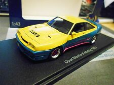 OPEL Manta B 400 Mattig Breitbau Tuning TV Kino Movie 1991 Resin BOS 1:43