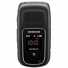 Samsung Rugby 3 III SGH-A997 - Black (Unlocked) Rugged PTT Flip Cell Phone-