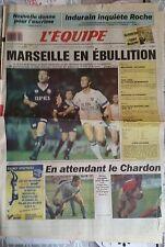 L'Equipe Journal 11-12/3/1989; Indurain-Roche/ Marseille en ébullition/ Bénichou