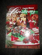 Country Woman Christmas 1998, hardcover, ideas, crafts, recipes EUC