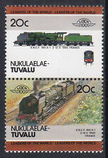Tuvalu Nukulaelae loco 100 sncf 160 A1 classe locomotive france timbres neuf sans charnière