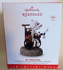 """2016 Hallmark Keepsake Ornament """"Dr. Finklestein"""" Nightmare Before Christmas MIB"""