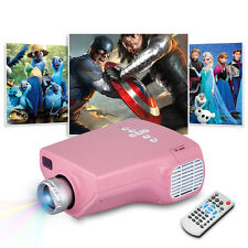 Handheld HD LED Projector Home Theater HDMI/VGA/AV/USB/SD Input For Smartphones
