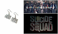 DC Comics Suicide Squad Dangle Earrings Girl Cute Cosplay W/Gift Box USA Seller