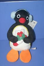 Pingu Penguin Pingu Christmas Earmuffs Plush doll BANPRESTO 8""