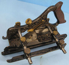 Stanley Millers Patent Plow Plane  # 41  1883 Fancy Victorian Casting