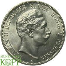 F624) J.104 PREUSSEN 5 Mark 1907 A Wilhelm II 1888-1918