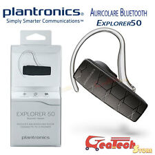 Plantronics Auricolare Bluetooth 3.0 EXPLORER 50 Multipoint Smartphone e Tablet