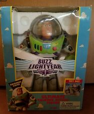 1995 Buzz Lightyear Toy Story ULTIMATE TALKING ACTION FIGURE