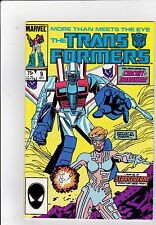 The Transformers #9 VF+ 8.5 Marvel 1985 See My Store