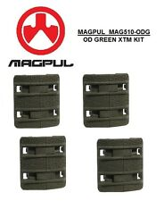 MAGPUL - MAG 510-ODG Enhanced XTM OD GREEN Textured Rail Cover Kit - 4pcs
