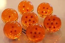 "USA Seller Cosplay 7 Crystal Resin 3"" Large 3D Dragon Ball 1-7 stars Set w/ Box"