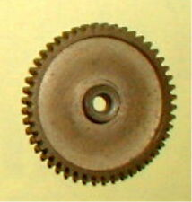 "48 Tooth Super Light Solid Brass Spur Gear 48 Pitch 1/8"" Hole NOS Slot Car #852"