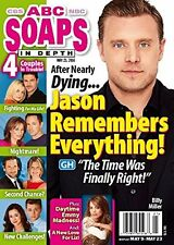 Billy Miller, Michael Easton, Jonathan Jackson - May 23, 2016 ABC Soaps In Depth