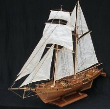 Hobby Wooden sailboat Model kit: Scale 1/96 HARVEY 1847 ship model All Basswood