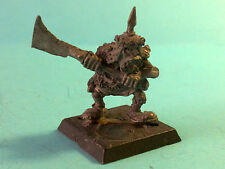 *Warhammer - Orcs & Goblins - Orc Warrior Classic - Metal WF169
