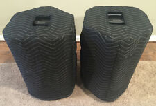ALTO PRO BLACK 12 Premium Padded Black Covers (2)   Qty of 1 = 1 Pair!!