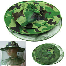 NEW Mosquito Resistance Bug Net Mesh Head Face Protector Cap Sun Hat CH