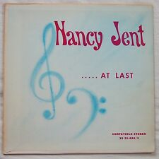 NANCY JENT At Last PRIVATE US LOUNGE ORGAN LP 1970 Watermelon Man + originals