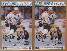 "Pittsburgh Penguins ""Ice Time"" Programs: 12/96 vs. Montreal & 2/1997 vs. Phoenix"