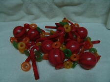 VINTAGE LIFE SAVER/CANDY-CANE/BALL BLOW MOLD GARLAND105 INCHES FREE SHIPPING