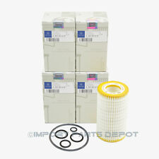 Mercedes-Benz Engine Oil Filter Fleece Genuine Original 0002609 (4pcs)