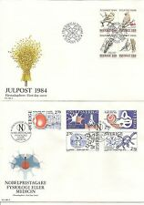 SWEDEN 1985-92 OFFICIAL ILLUS FDCS ALMOST  COMPLETE FOR PERIOD (100)