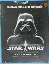 Convention Schedule MEXICO '03 Darth Vader carry case Kenner employees Star Wars