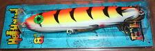 """8"""" Hellhound ERC Esox Jerkbait Glidebait Musky Orange Tiger HH-50 Drifter Tackle"""