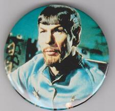 "Star Trek Mr. Spock 2 1/4"" Pin Back Button Leonard Nimoy #3"