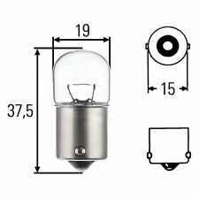 Indicator bulb / stop light / etc.: Bulb 12v 10 WAT | HELLA 8GA 002 071-131