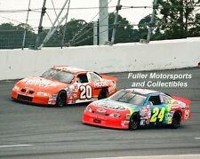 JEFF GORDON vs TONY STEWART 1999 DAYTONA 500 NASCAR 16X20 PHOTO POSTER