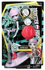 MONSTER High Surf-to-Turf Scooter Veicolo con Bambola di Lagoona Blue