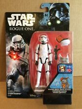 "Star Wars Rogue One Imperial Stormtrooper - 3.75"" action figure Breakaway Armour"